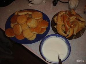 """Торт """"Черепаха"""" со сметаной - фото шаг 8"""