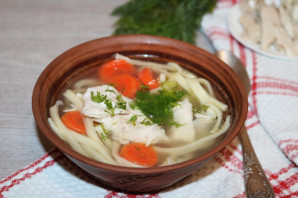 Татарский суп-лапша «Токмач»  - фото шаг 12