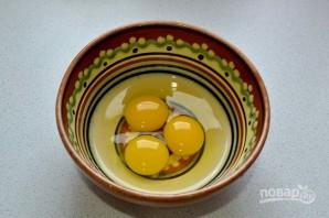 Салат с говядиной и яичными блинчиками - фото шаг 6