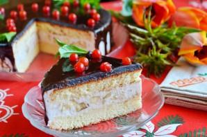 Праздничный торт с творожным кремом - фото шаг 15