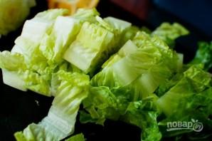 Салат из говядины с гранатом - фото шаг 2