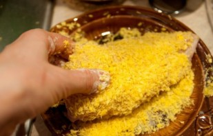 Куриная грудка, фаршированная сыром - фото шаг 6