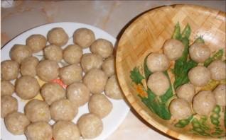 Фрикадельки в грибном соусе - фото шаг 4