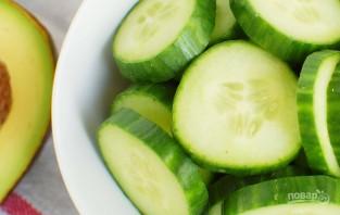 Простой салат с авокадо - фото шаг 2