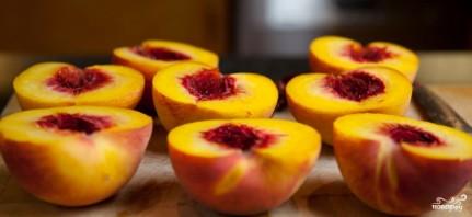 Запеченные персики - фото шаг 1