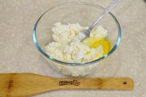 Сырники с курагой - фото шаг 2