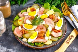Салат с ростбифом - фото шаг 6