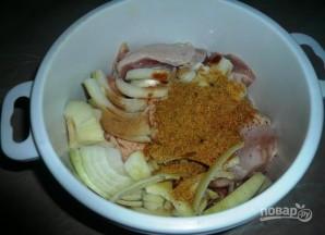 Курица с макаронами - фото шаг 3