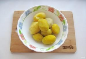 Жареные картофельные пирожки с квашеной капустой - фото шаг 7