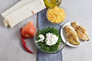 Закуска из лаваша с курицей - фото шаг 3