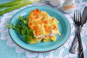 Рыба с картошкой в духовке - фото шаг 12