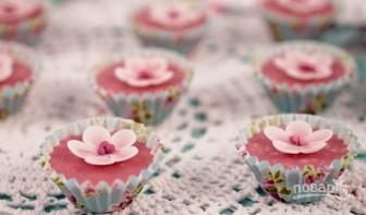 Сахарные цветы - фото шаг 8
