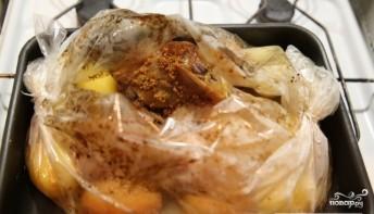 Голени индейки в духовке - фото шаг 6