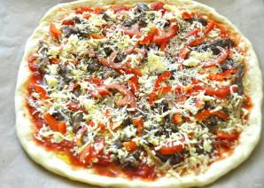 Пицца с бараниной - фото шаг 15