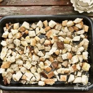 Сухари для салата - фото шаг 6