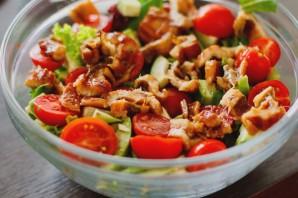 Салат с угрем - фото шаг 6