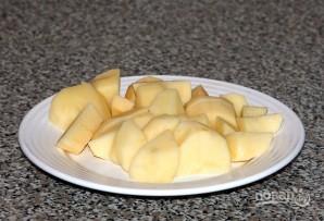 Картофельный суп на курином бульоне - фото шаг 5