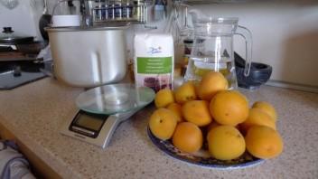 Варенье из абрикосов в хлебопечке - фото шаг 1