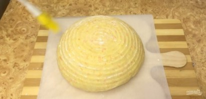 Белый хлеб с тыквой - фото шаг 4