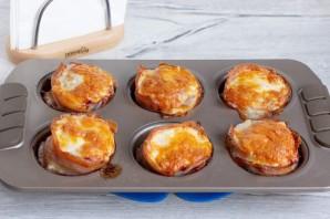 Мясные кексы с перепелиными яйцами - фото шаг 8