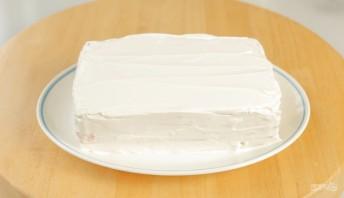 Лучший закусочный торт из крекеров и рыбной консервы - фото шаг 10