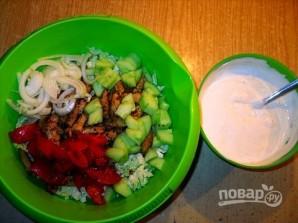 Салат с мясом (свинина) - фото шаг 3