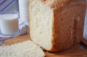 Хлеб на живых дрожжах в хлебопечке - фото шаг 8