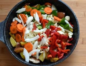 Маринованная свинина с овощами - фото шаг 4