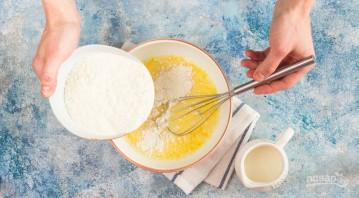Блинчики тонкие на сковороде (ароматные) - фото шаг 3
