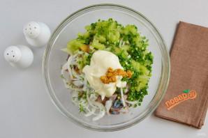 Салат из скумбрии - фото шаг 5