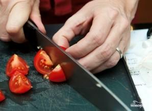 Запеченные помидоры с сыром - фото шаг 2