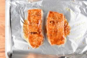 Глазированный лосось - фото шаг 3
