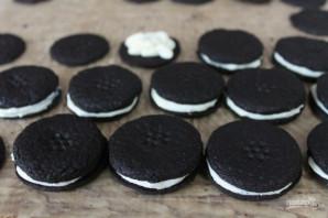 """Шоколадное печенье """"Орео"""" - фото шаг 11"""