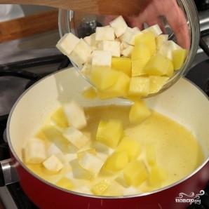 Треска с картошкой - фото шаг 2