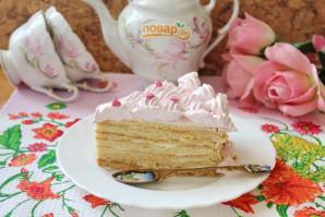 Сметанный торт с медовыми коржами - фото шаг 20