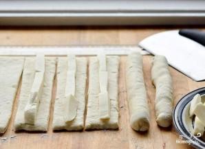 Хлебные палочки с сыром - фото шаг 1