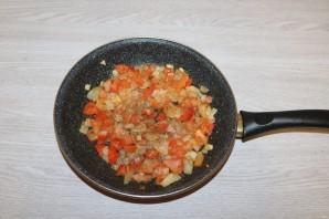 Салат с баклажанами и фасолью - фото шаг 9