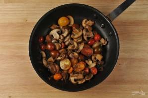 Паста с помидорами и грибами - фото шаг 2