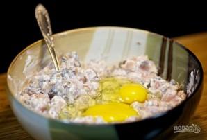 Куриные котлеты-оладьи из рубленого мяса - фото шаг 5