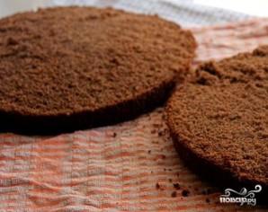 Шоколадно-творожный торт - фото шаг 11
