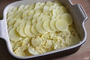 Детская картофельная запеканка с сыром - фото шаг 2