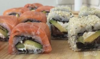 Вкусные суши дома - фото шаг 14