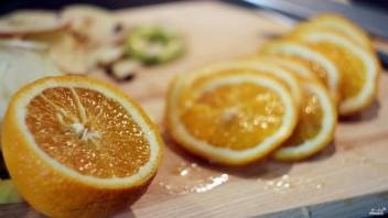 Апельсиновые чипсы - фото шаг 1