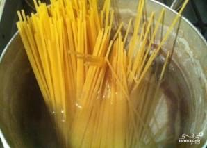 "Спагетти с сыром ""Дор блю"" - фото шаг 5"