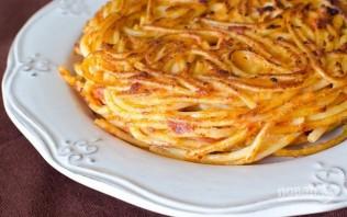 Фриттата из спагетти - фото шаг 4