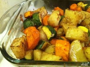 Картофель с овощами запеченный - фото шаг 4