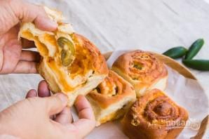 Рулеты с сыром и перцем - фото шаг 6