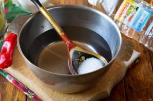Зимний салат со свежим огурцом - фото шаг 5