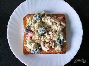 Сэндвич с салатом из курицы - фото шаг 5