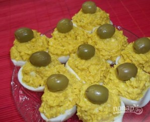 Яйца с икрой - фото шаг 7